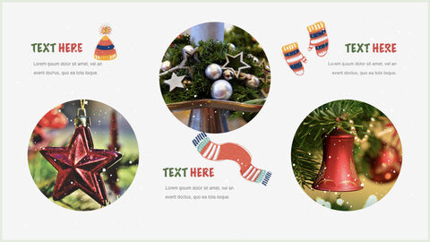 행복한 크리스마스 테마 키노트 디자인_13