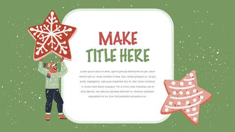 행복한 크리스마스 테마 키노트 디자인_15