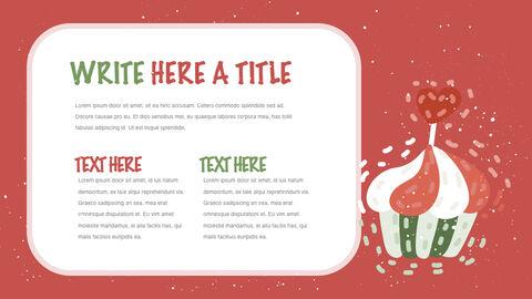 행복한 크리스마스 테마 키노트 디자인_16