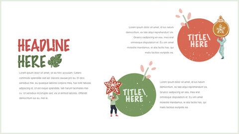 행복한 크리스마스 테마 키노트 디자인_17