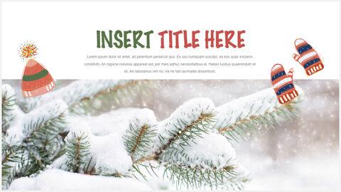 행복한 크리스마스 테마 키노트 디자인_18