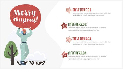 행복한 크리스마스 테마 키노트 디자인_19