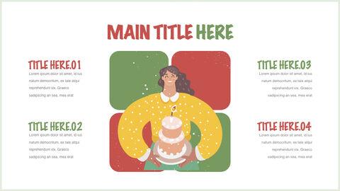 행복한 크리스마스 테마 키노트 디자인_21