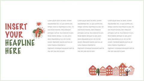 행복한 크리스마스 테마 키노트 디자인_24