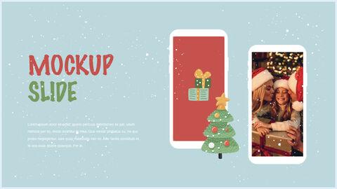 행복한 크리스마스 테마 키노트 디자인_39
