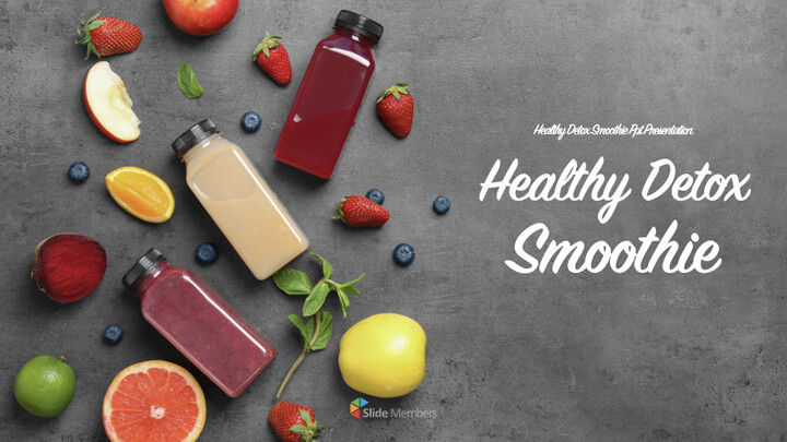 Healthy Detox Smoothie Keynote to PPT_01