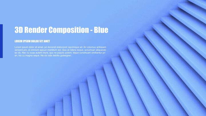 3D Render Composition PPT Keynote_02