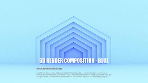 3D Render Composition PPT Keynote_05