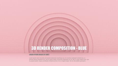 3D Render Composition PPT Keynote_21