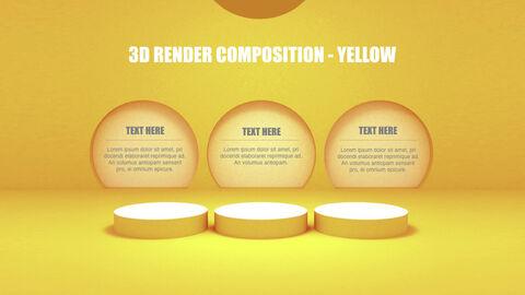 3D Render Composition PPT Keynote_28