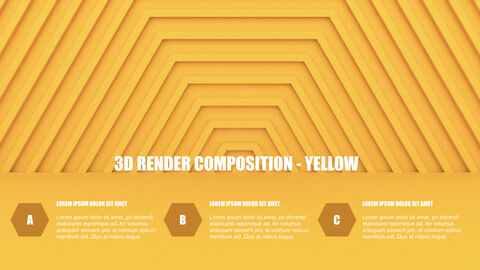 3D Render Composition PPT Keynote_34