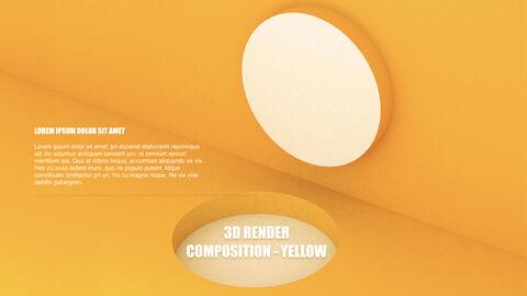 3D Render Composition PPT Keynote_36