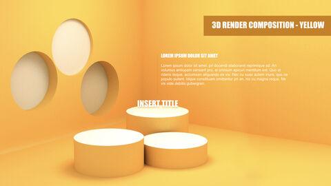 3D Render Composition PPT Keynote_37