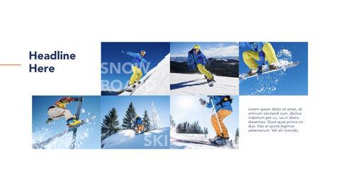 스노우 보드 및 스키 마이크로소프트용 키노트_20