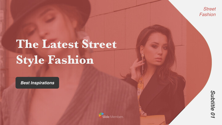 The Latest Street Style Fashion PowerPoint for mac_01