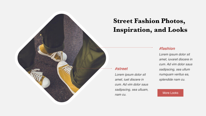 The Latest Street Style Fashion PowerPoint for mac_02