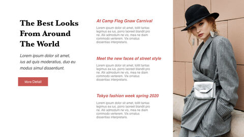 The Latest Street Style Fashion PowerPoint for mac_04