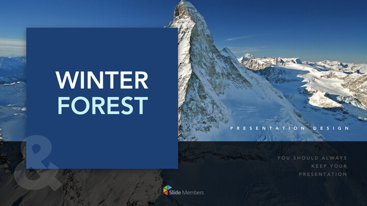 Winter Forest Multipurpose Presentation Keynote Template_01