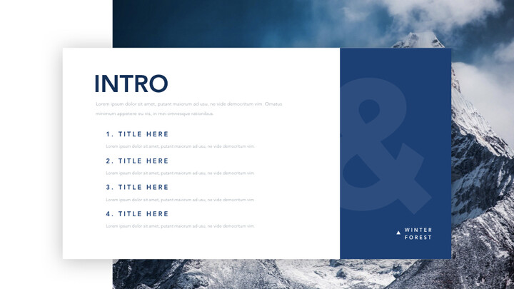 Winter Forest Multipurpose Presentation Keynote Template_02