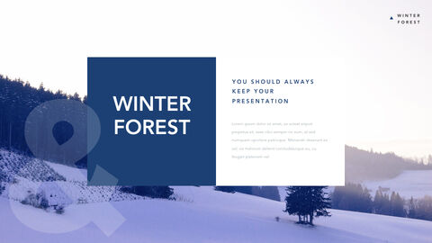 Winter Forest Multipurpose Presentation Keynote Template_03