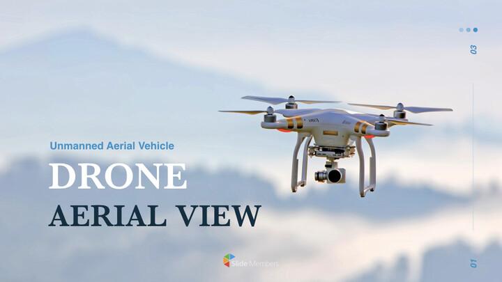 Drone Aerial View Ultimate Keynote Template_01