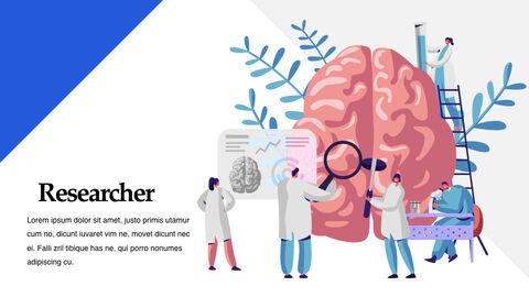 의료 연구 멀티 프레젠테이션 키노트 템플릿_28