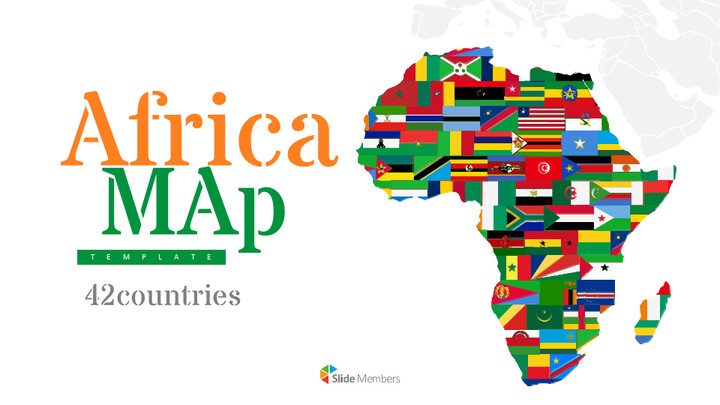 Africa Map (42countries) Google Slides Presentation_01