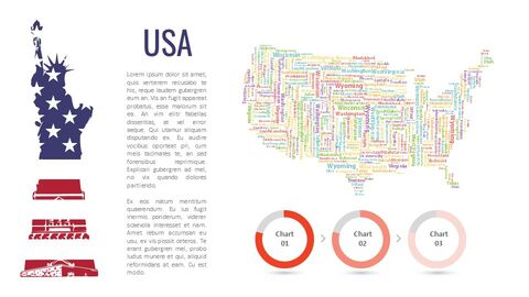 America Map Simple Slides Design_03