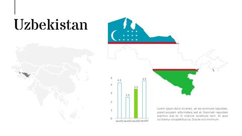 Asia Map Simple Presentation Google Slides Template_02