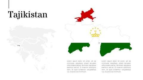 Asia Map Simple Presentation Google Slides Template_05