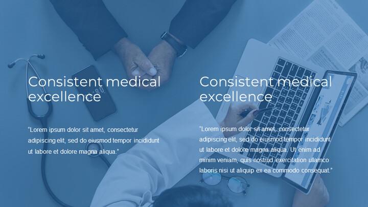 블루컨셉 의학 관련 편집이 쉬운 구글 슬라이드 템플릿_02