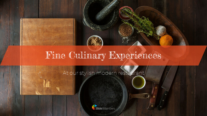 Fine Culinary Experiences Google PowerPoint Presentation_01