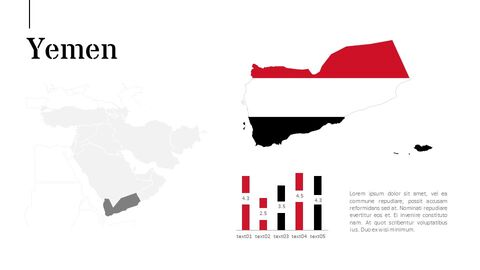 Oceania & Middle East Map Google PowerPoint Presentation_05