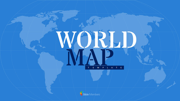 World Map Google Slides Template Design_01