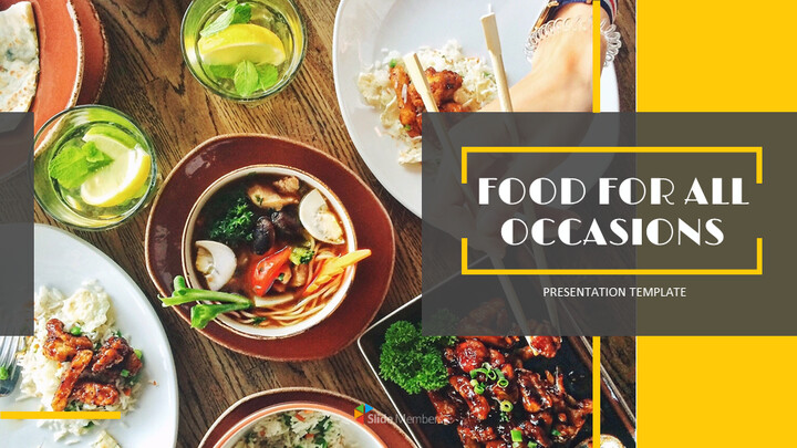 Food for all Occasions Google Presentation Templates_01