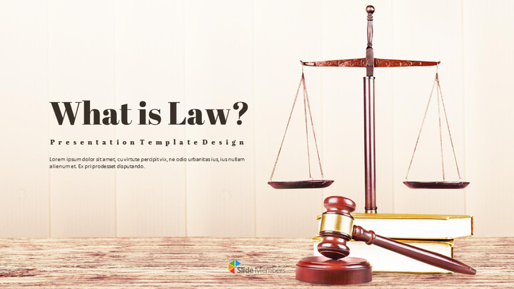 What is Law Simple Presentation Google Slides Template_01