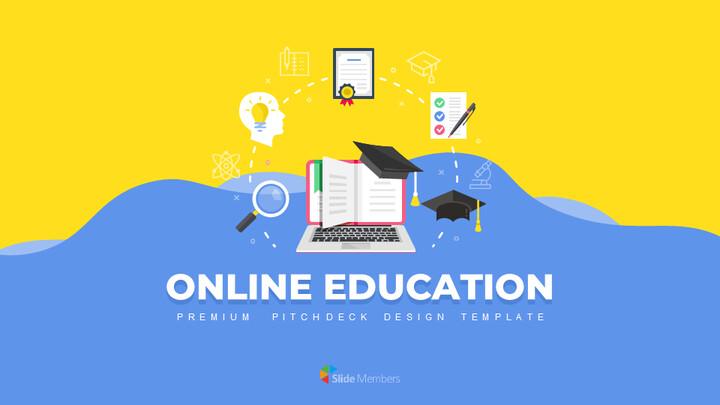 Online Education Service Google Presentation Slides_01