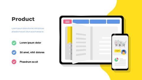 Online Education Service Google Presentation Slides_02