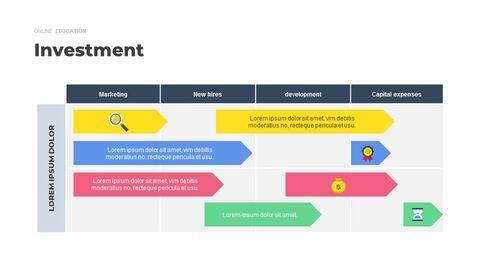Online Education Service Google Presentation Slides_05