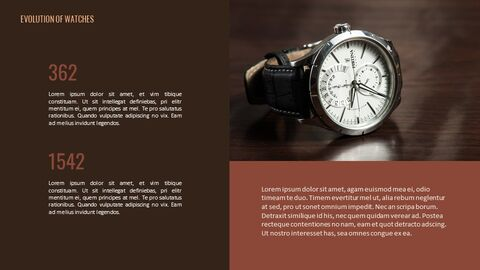 Past to present : About watch Simple Google Templates_04