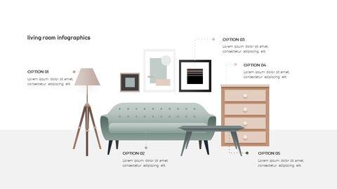 Home Interior Simple Presentation Google Slides Template_05