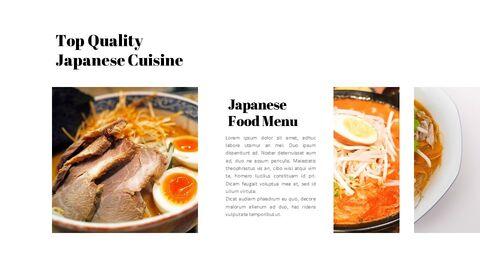 일본 요리 프레젠테이션을 위한 구글슬라이드 템플릿_02