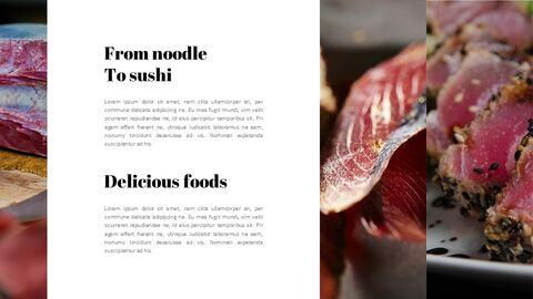 일본 요리 프레젠테이션을 위한 구글슬라이드 템플릿_05