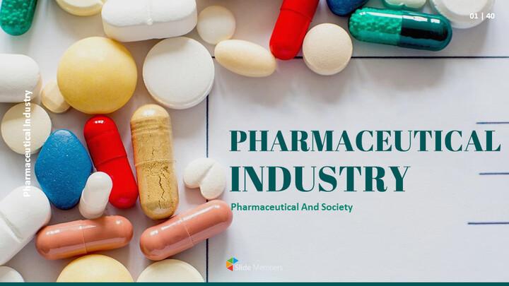 Pharmaceutical Industry Easy Slides Design_01
