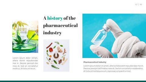 제약 산업 편집이 쉬운 슬라이드 디자인_03