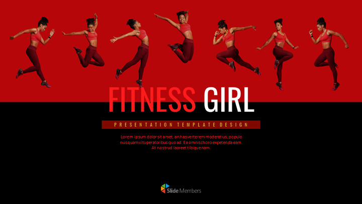 Fitness Girl Simple Google Templates_01