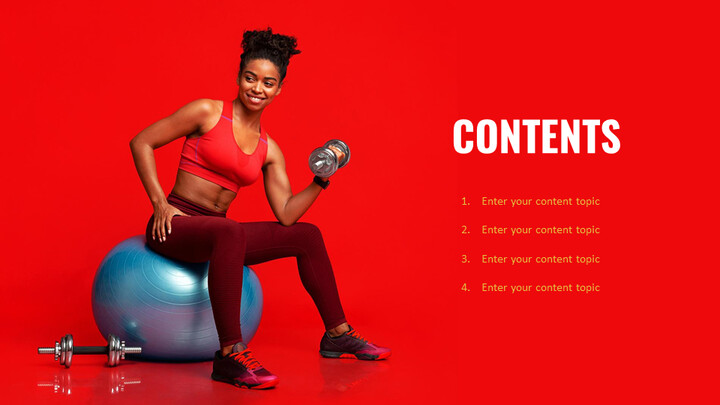 Fitness Girl Simple Google Templates_02