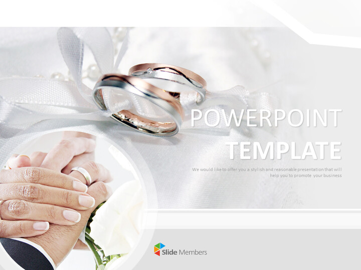 Free Powerpoint Template - Eternity Ring_01