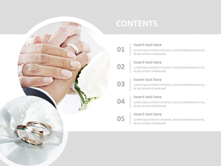 Free Powerpoint Template - Eternity Ring_02