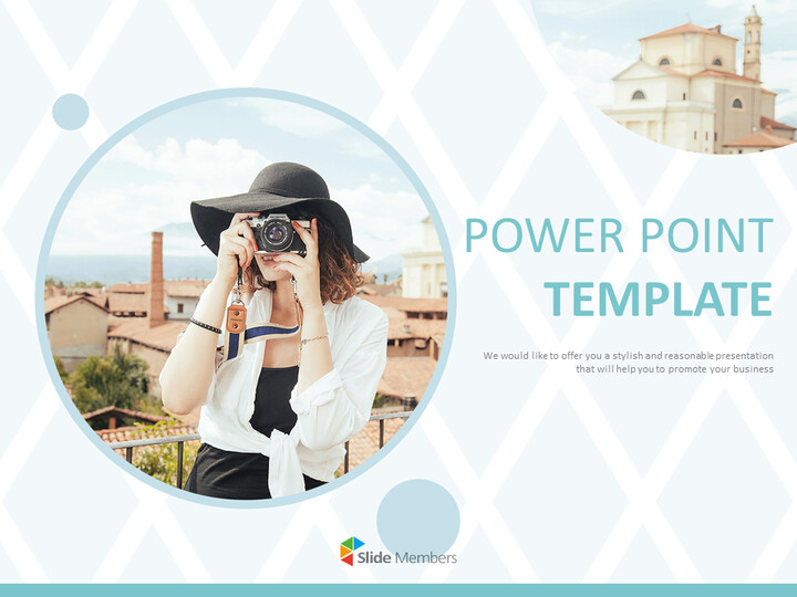 Overseas Trip in Spring Time - Free PPT Sample_01